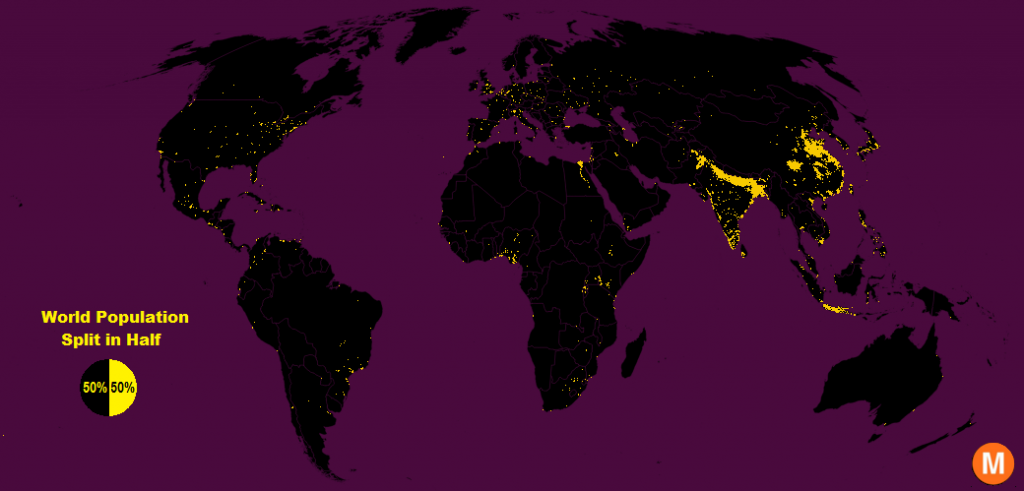 10 Maps That Prove the World Is Far From Running Out of Space